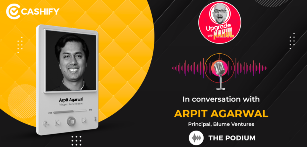 Arpit Agarwal, Blume Ventures